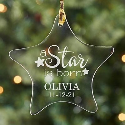 A Star is Born Acrylic Ornament