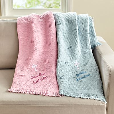 Bundled Blessings Honeycomb Blanket