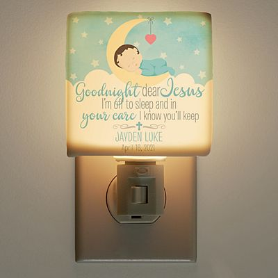 Goodnight Jesus Night Light