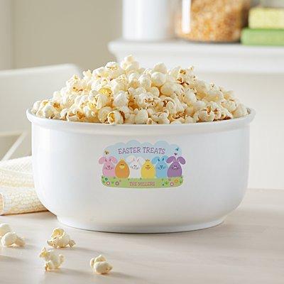Spring Friends Popcorn Bowl