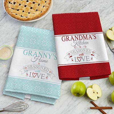 Seasoned With Love Kitchen Towel