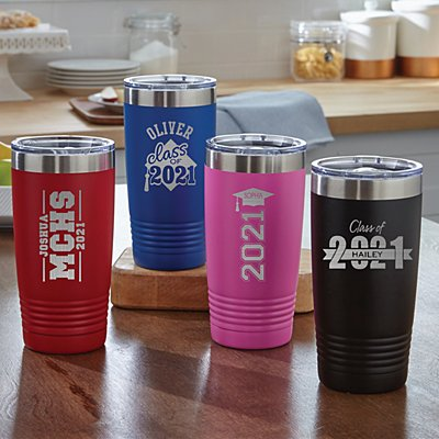 On-The-Go Graduation Insulated Tumbler