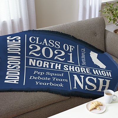 All About the Graduate Throw