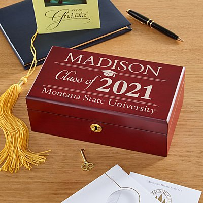 Graduation Wood Keepsake Box