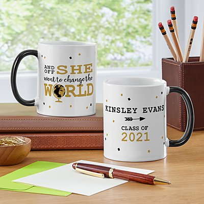 Change The World Graduation Mug