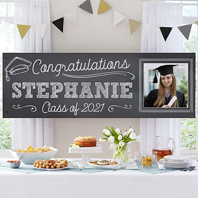 Class Act Graduation Photo Banner