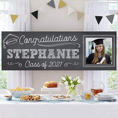 Class Act Graduation Photo Banner