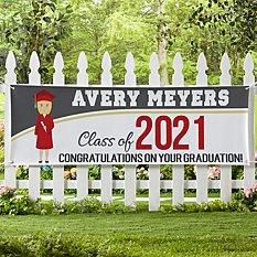 Graduation Character Banner