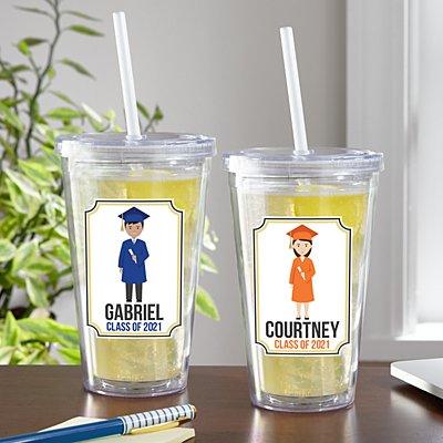 Graduation Character Tumbler