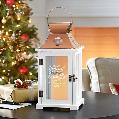 Merry Little Christmas Lantern