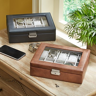 The Best Is Yet To Come Leather Watch Box
