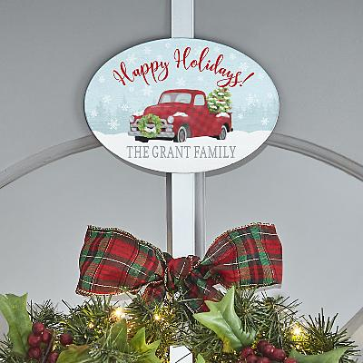 Classic Christmas Wreath Holder