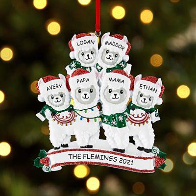 Fa La La Llama Family Ornament
