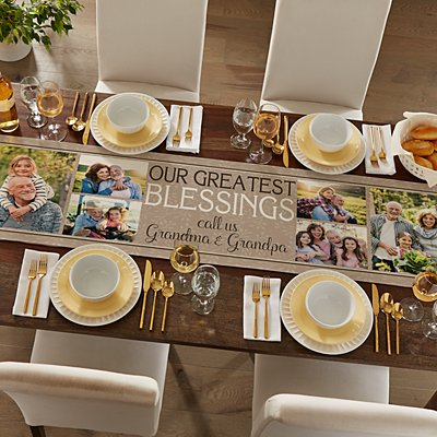 Create Your Own Photo Table Runner