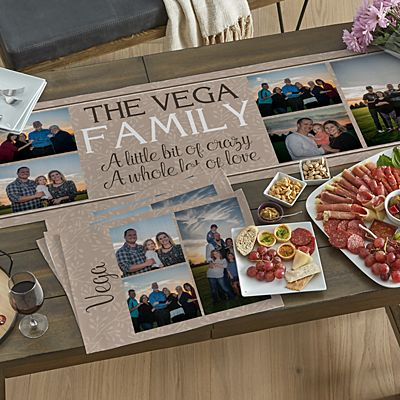 Create Your Own Photo Table Runner & Placemats