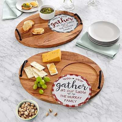 Family Gather Entertaining Trivet Set
