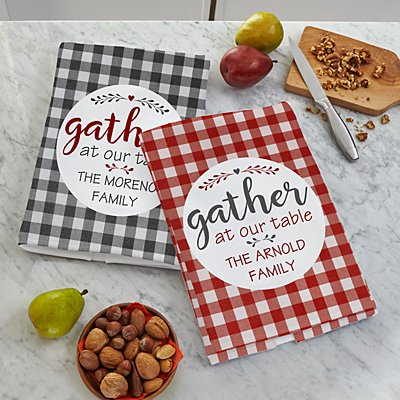 Family Gather Kitchen Towel