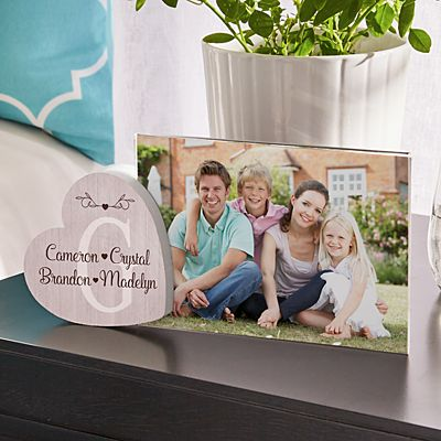 Loveable Family Heart Frame