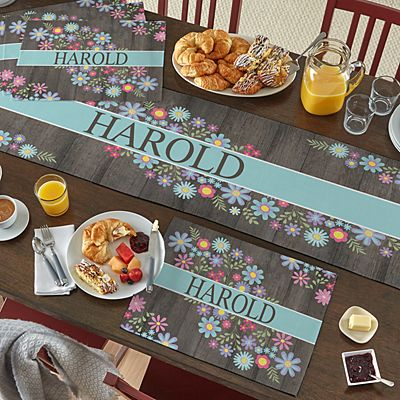 Spring Is Here Table Runner & Placemats