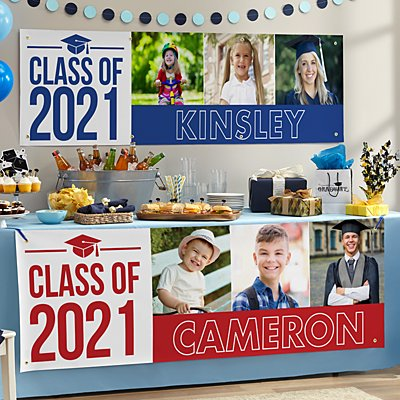 Way To Grow! Graduation Photo Banner