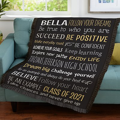 Words Of Wisdom Throw