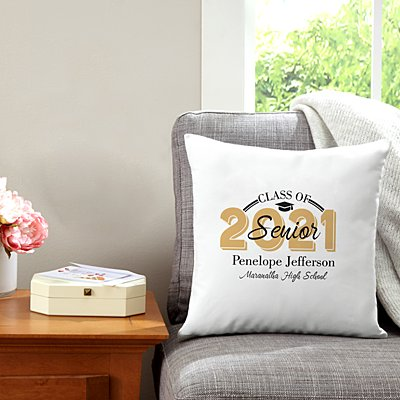 Senior Pride Graduation Throw Pillow