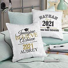 Best In Class Graduation Sequin Pillow