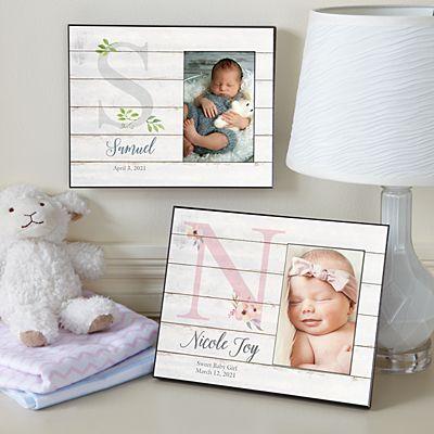 Elegant Baby Picture Frame
