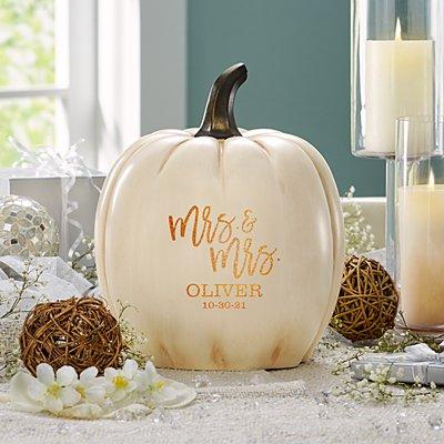 Light-Up Festive Romance Pumpkin