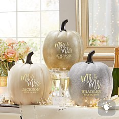 Light-Up Festive Romance XL Pumpkin