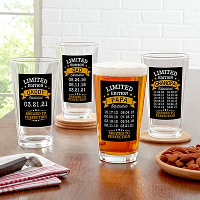 Limited Edition Pint Beer Glass