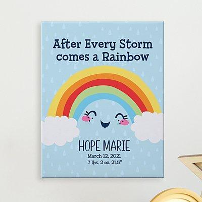 Rainbow Baby Canvas