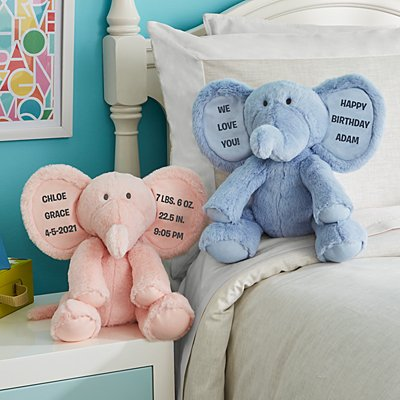 Snuggly Soft Plush Elephant