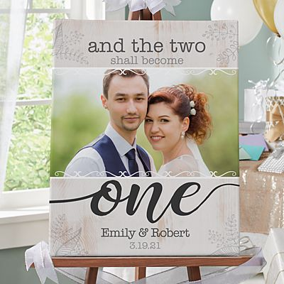 Two Shall Become One Photo Canvas