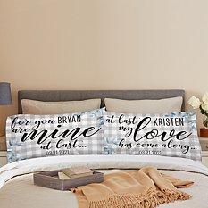 At Last Pillowcase Set - Set of 2
