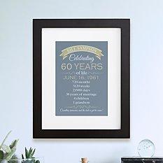 Birthday Of A Lifetime Framed Print