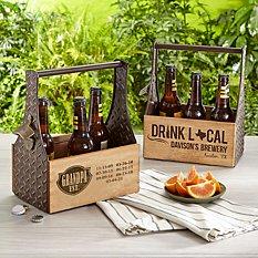 Established Wood Beer Caddy
