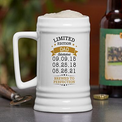 Limited Edition Beer Stein