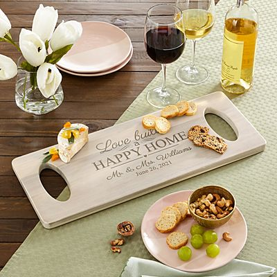 Love Builds a Happy Home Banquet Board