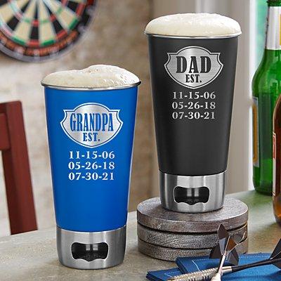 Established Beer Bottle Opening Tumbler