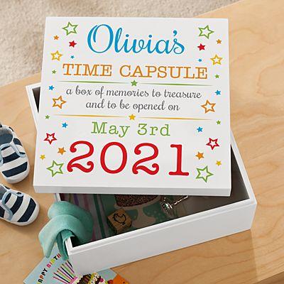 Precious Memories First Birthday Keepsake Box