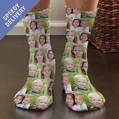 Photo Collage Socks