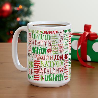 Signature Style Christmas Mug