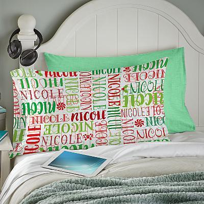 Signature Style Holiday Pillowcase
