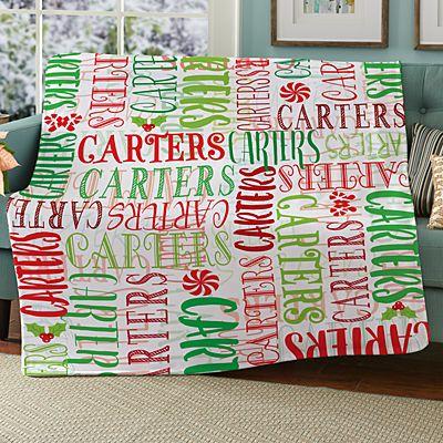 Signature Style Holiday Plush Blanket