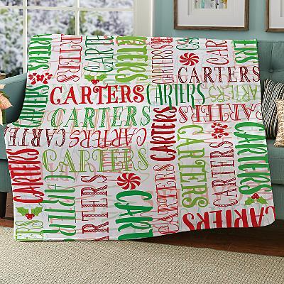 Signature Style Christmas Plush Blanket
