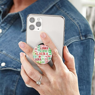 Signature Style Holiday PopSockets PopGrip®