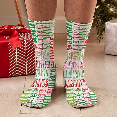 Signature Style Christmas Socks