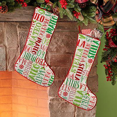Signature Style Holiday Stocking