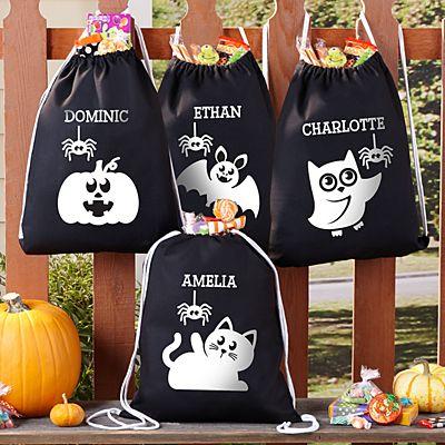 Spooky Cuties Glow In The Dark Drawstring Bag